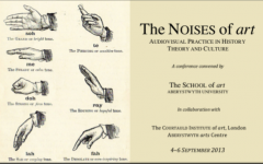 Conference - The Noises of Art: Audiovisual Practice in History, Theory and Culture
