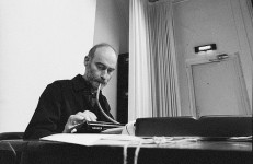 Experimental composer Christian Wolff at NSPE April 4