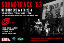 Soundtrack '63 at the New School